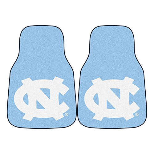 FANMATS NCAA UNC University of North Carolina - Chapel Hill Tar Heels Nylon Face Carpet Car Mat