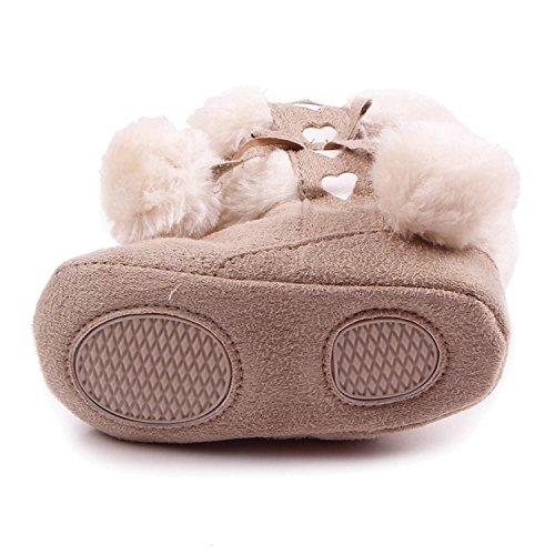 best service 6cc77 3e987 Lovely Gosear Botas de Navidad Baby Botas de invierno infantil suave Suela zapatos  para 12-