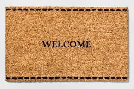 - Hearth and Hand with Magnolia Door Mat Welcome 18 x 30