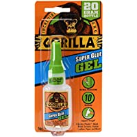Gorilla 7700104 Super Glue Gel 20g