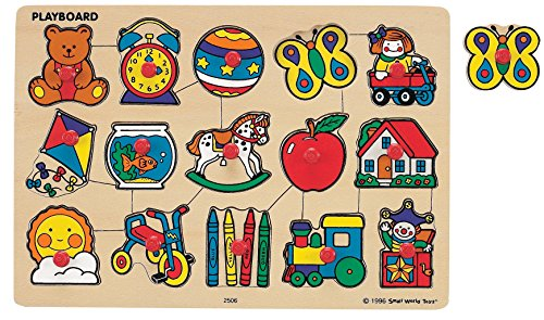 (Small World Toys Ryan's Room Wooden Puzzle - Classic)