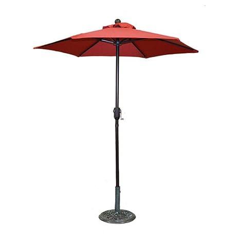Metal Patio Umbrella With Crank