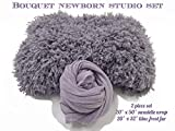 Custom Photo Props, Professional Newborn Photography, Bouquet Studio 2 Piece Set