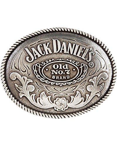 mens jack daniels belt buckle - 1