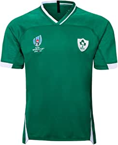 CRBsports Equipo De Irlanda, Jersey De Rugby, Copa del Mundo, Edición para El Hogar, Nueva Tela Bordada, Swag Sportswear: Amazon.es: Deportes y aire libre