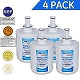 Icepure DA2900003B Refrigerator Water Filter Replacement Samsung DA2900003B,DA29-00003B,DA29-00003A,DA61-00159,DA61-00,RWF0200A,4PACK