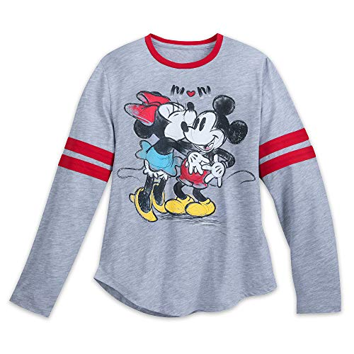 (Disney Mickey Mouse Minnie Mouse Long Sleeve Shirt Adults Size Ladies XL)