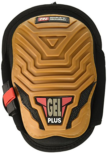 (Gel Plus Rubber-Shell Kneepads - Black/Yellow)