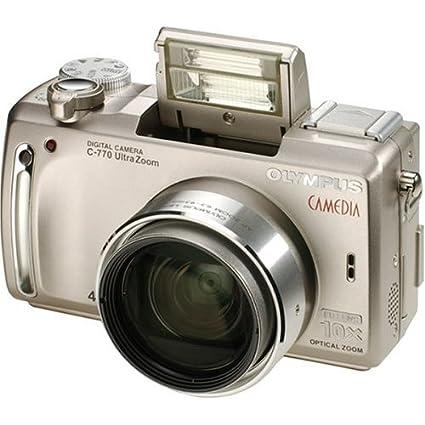 amazon com olympus c 770 ultra zoom 4mp digital camera with 10x rh amazon com Olympus Camedia 2020 olympus camedia c-7000 manual