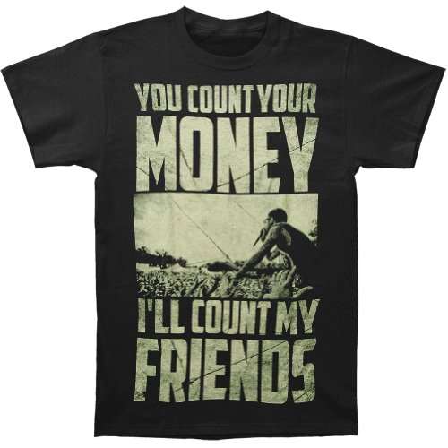 Memphis May Fire Men's Richer T-shirt Black