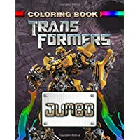 Transformers JUMBO Coloring Book: Coloring Book for Kids and Adults (Perfect for Children Ages 4-12)