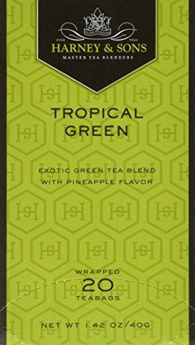 [Tropical Green Tea 20 Teabags] (Tropical Citrus Green Tea)