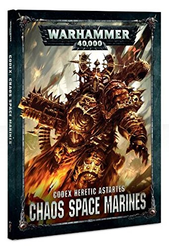 Games Workshop Warhammer 40k Chaos Space Marines Codex Heretic Astartes