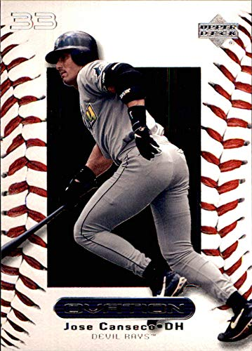 - JOSE CANSECO TAMPA BAY DEVIL RAYS 2000 Upper Deck Ovation #23 (Box178)