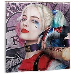 51YBI4MH1yL._AC_UL250_SR250,250_ Harley Quinn Shower Curtains