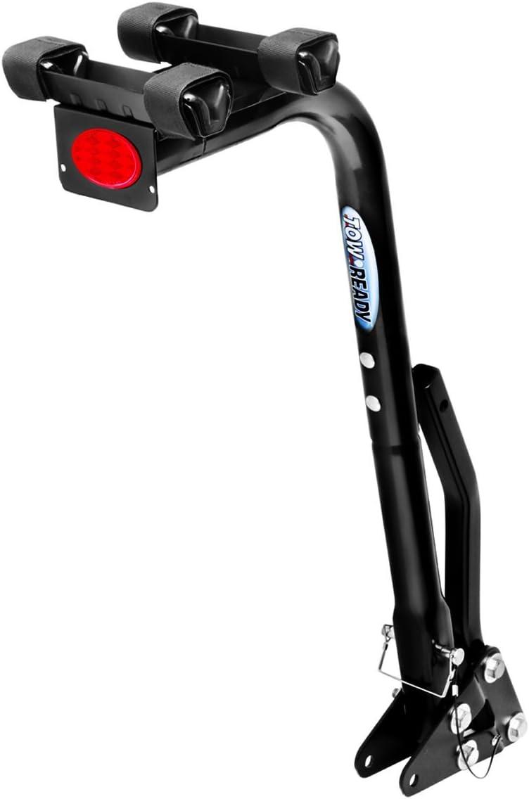 Pro Series 63123 Eclipse Black 3-Bike Hitch Mounted Bike Carrier