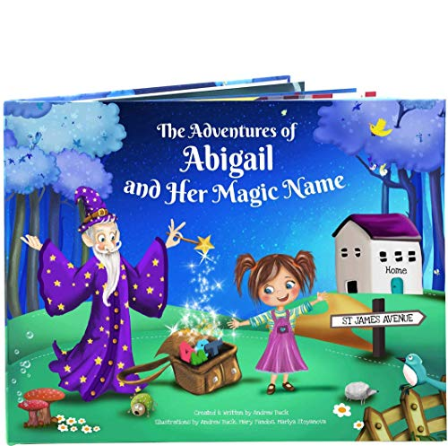 Customized Birthday Book Gift for Girls Boys - A Clever Personalized Story Book All About Their Name - Special Present for Kids