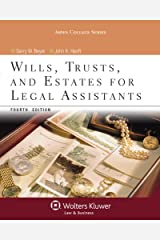 Wills Trusts & Estates for Legal Assistants, Fourth Edition (Aspen College) Paperback