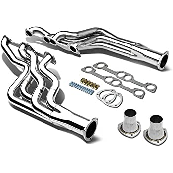 Amazon Com Dna Motoring Hdsgto64v8 Stainless Steel Exhaust Header