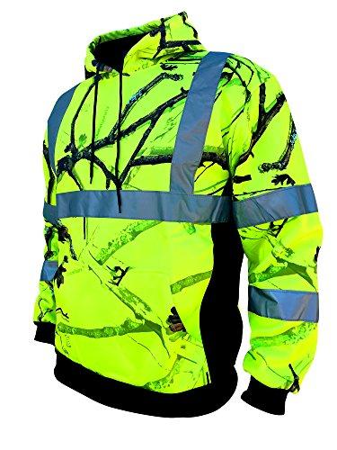 - SafetyShirtz SS360 Backwoods Safety Hoody ANSI Class 3 L