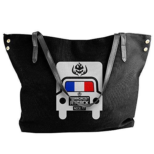 [Nice Attack Truck Hit Bastille Day France Handbag Shoulder Bag For Women] (Bastille Day Party Costumes)