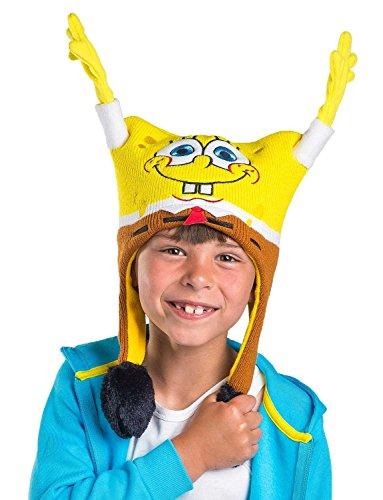 Spongebob Squarepants Kids Flipeez Action Hat Yellow -
