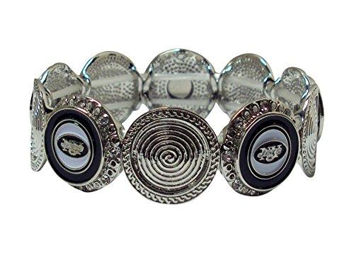 Pro Specialties Group NFL New York Jets Stretch Logo Bracelet (Jet Stretch Bracelet)