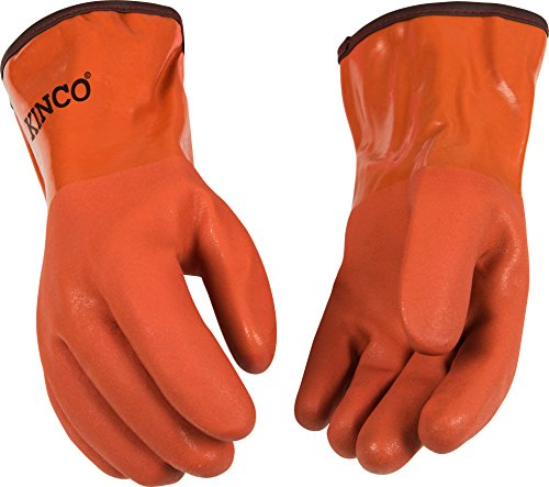 Kinco 8182-L-1 Full PVC Coated with Sandy Finish, 12