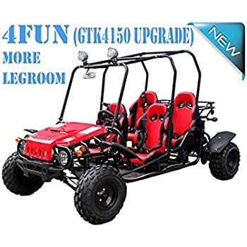 4 Seater GO KART For Family!! Smooth U0026 Easy To Operate 150cc Go Kart Fully  Automatic With Reverse   PRO TT Go Kart Honda CRF Series Clone 4 Stroke  Engine