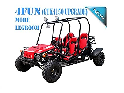 4 Seater GO KART For Family!! Smooth & Easy To Operate 150cc Go Kart Fully  Automatic with Reverse - PRO TT Go Kart Honda CRF Series Clone 4 Stroke