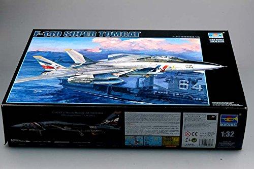 (Trumpeter 1/32 F14D Super Tomcat Fighter Model Kit)