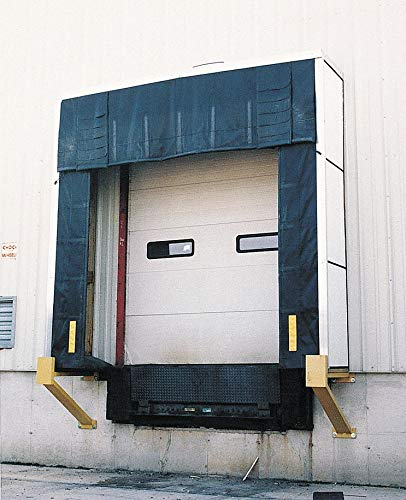 "Dock Shelter, 36"" Projection, Fits Door Height 8 to 10 ft, Fits Door Width 8 to 10 ft."