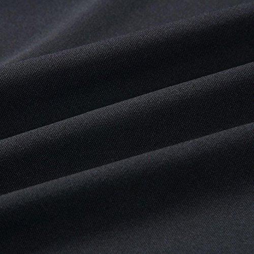 Delle Nero Da Partito Donne Vestito vestito Moda Haoricu Di AOISwnqUx4