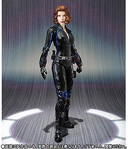 Bandai S.H Figuarts Avengers Infinity War Black Widow /& Tamashii Effect DLX Set