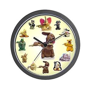 "CafePress - Candy Dog (& Friends) - Unique Decorative 10"" Wall Clock"