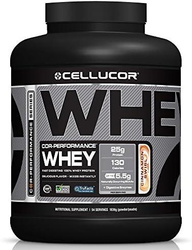 Cellucor Cor Performance Whey Protein Cinnamon Swirl, 1er Pack (1 x 1.8 kg)