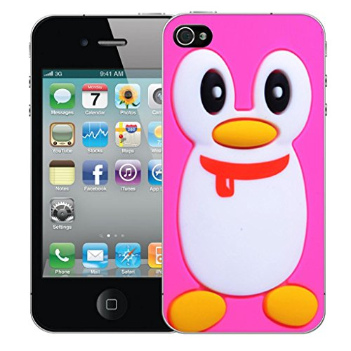 "iphone 6 4.7"" Dur Coque couverture Pare-chocs Case Cover - Rose penguin conception par Mobile Case Mate"