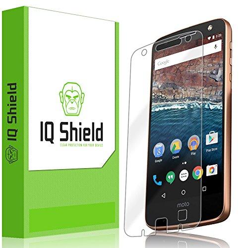 IQ Shield Screen Protector Compatible with Moto Z Force Droid (Verizon Droid Edition) LiquidSkin Anti-Bubble Clear Film