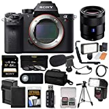 Sony Alpha A7R II 4K Wi-Fi Digital Camera Body with T FE 55mm f/1.8 Lens + 64GB Card + Battery + Charger + Case + Flash + LED + Tripod + Kit Review