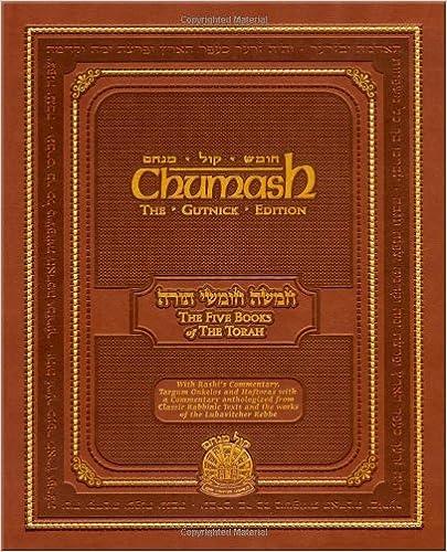 chaim miller, chumash, moses, the long short way, matisyahu goren