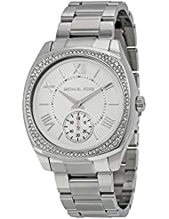Michael Kors Womens Bryn Silver-Tone Watch MK6133