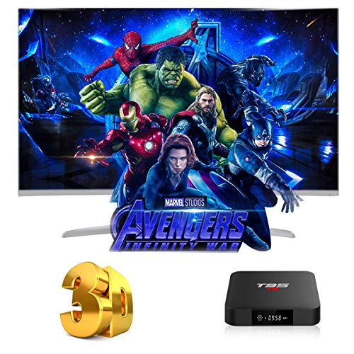 Android TV Box, T95 S1 TV Box 2GB RAM/16GB ROM Android 7.1 Amlogic S905W Quad Core Soporte 2.4GHz WiFi H.265...