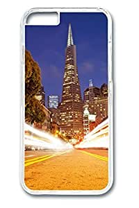 6 plus Case, iPhone 6 plus Case - Perfect Fit Cases for iPhone 6 plus San Francisco Clear Hard PC Bumper Covers for iPhone 6 plus