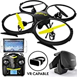 Force1 Drones with Camera for Adults and Kids - U818A WiFi FPV 720p HD Camera Drone Quadcopter, RC WiFi FPV Drone w/ Camera Live Video and VR Headset