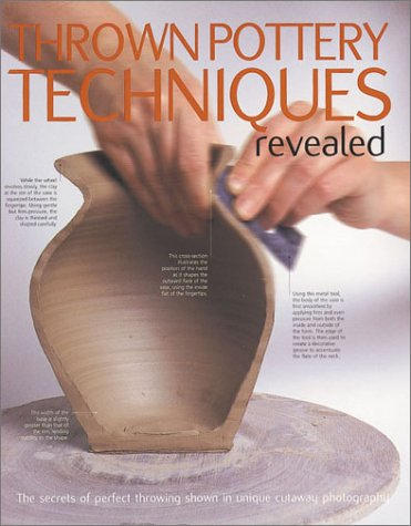 (Thrown Pottery Techniques Revealed: The Secrets of Perfect Throwing Shown in Unique Cutaway Photography)