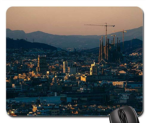 Mouse Pads - Barcelona Architectural Architecture Art Attraction