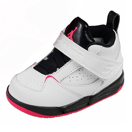 low priced 7326a a154f Nike Air Jordan Flight 45 (TD) Baby 644875-109-25 - 8 Blanc  Amazon.co.uk   Shoes   Bags