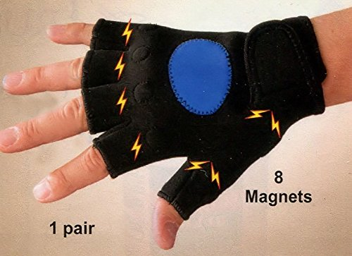 Large/X-Large Form Fitting Magnetic Hand Soothing Gloves
