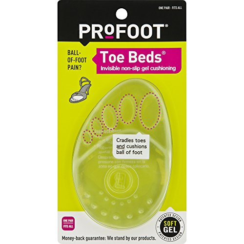 PROFOOT Toe Beds, Women's, 1 Pair (Pack of 6)