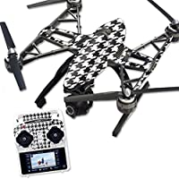 Skin For Yuneec Q500 & Q500+ Drone – Houndstooth | MightySkins Protective, Durable, and Unique Vinyl Decal wrap cover | Easy To Apply, Remove, and Change Styles | Made in the USA